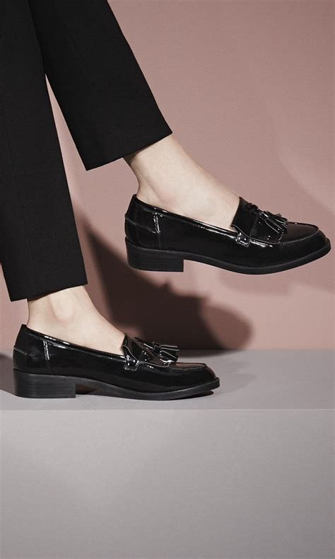 Shine On In The Shine Patent Leather Dorsay From Davis By Ruthie Davis Shoewawa by 25 Best Ideas About Loafers On Black