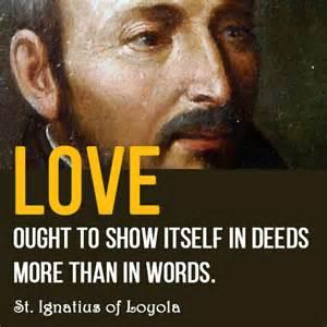 st ignatius of loyola quotes