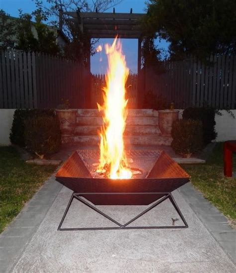 diy pit stand how to diy a pit for your backyard ideas and