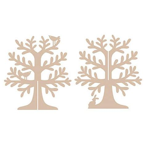 Pronty Mdf Jewellery Tree Woodland Scrolling For Enjoyment Pinterest The Two Trees And 3d Tree Template Free