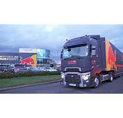 Red Bull Racing Trucks Packed Up And Heading To Formula
