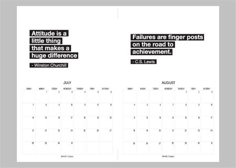 printable monthly calendar with quotes calendar quotes quotesgram