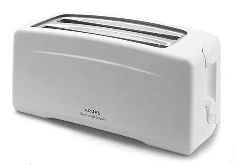 Extra Long Toaster Krups Sensotoast Deluxe 4 Slice Toaster Free Shipping On