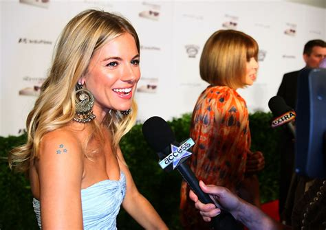 sienna miller tattoo more pics of miller 2 of 15