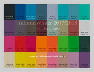 trending colors aw2017 2018 trend forecasting on behance