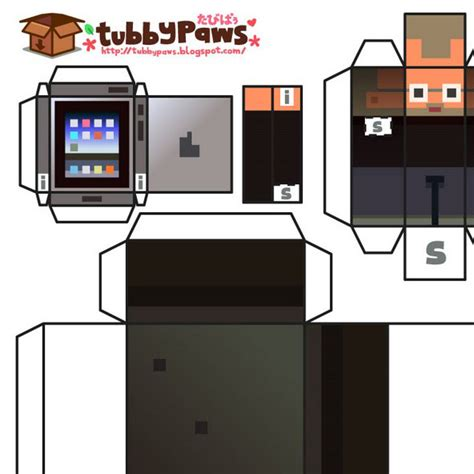 Apple Papercraft - armshaz make your own papercracft