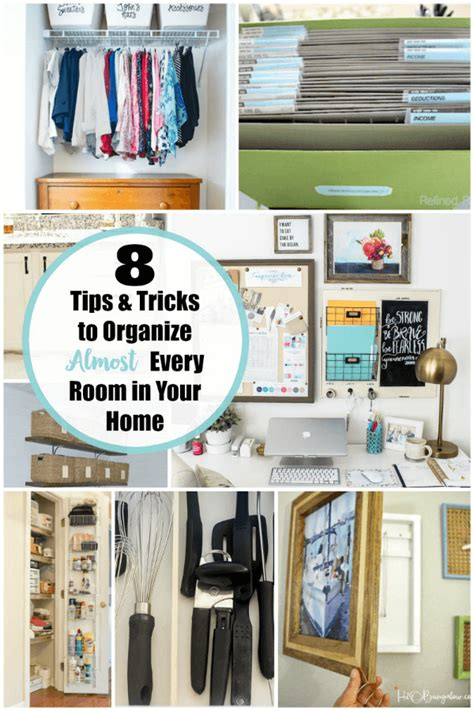 ideas to organize every area in your home how to kick the clutter successful home organization