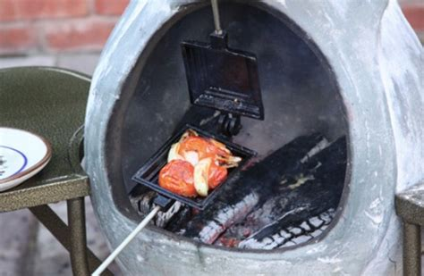 How To Cook On A Chiminea cooking with a chiminea for backyard design and decor