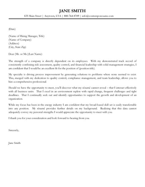 Format For A Cover Letter – Cover Letter Format : Creating an Executive Cover Letter
