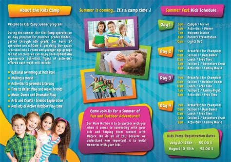 Kids Summer Camp 3 Fold Brochure 01 by rapidgraf