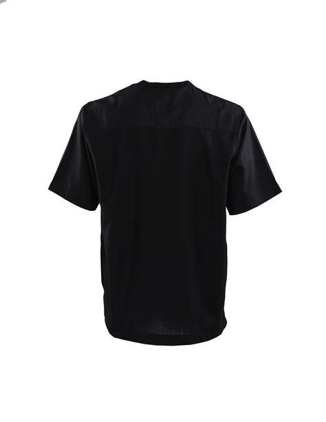 Kemeja Batik 45 kemeja kerah shanghai lengan pendek black pasaraya store