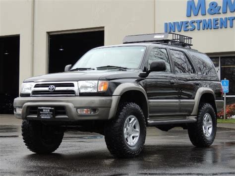 Toyota 4runner 4wd 1999 Toyota 4runner Limited 4wd V6 Leather Diff Lock