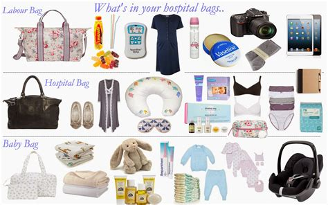what to pack in hospital bag for baby c section what s inside your hospital bags yes bags why one