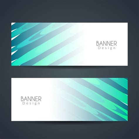 design banner elegant abstract elegant banner design vector free download