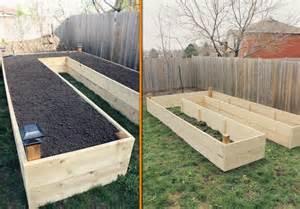 easy raised bed garden diy easy access raised garden bed the owner builder network