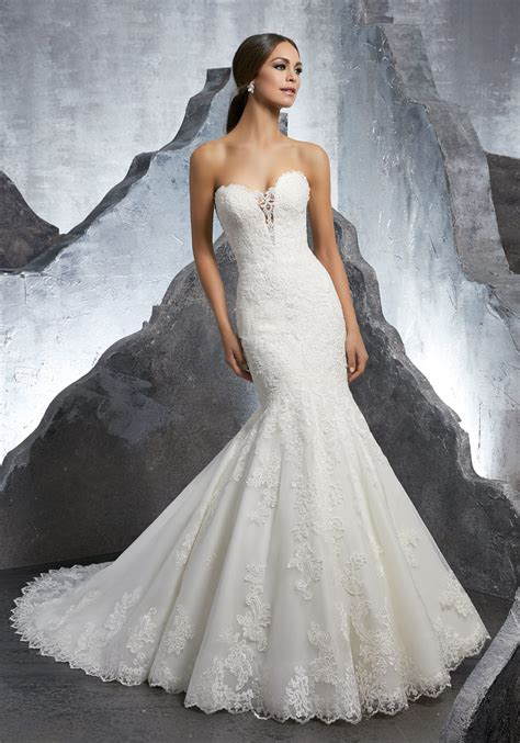 kaitlyn wedding dress style 5607 morilee