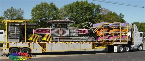 Racked Rides by Chaos Racked On Single Trailer Amusement Ride Extravaganza