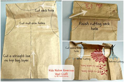 How To Make A Paper Bag Vest - american vest craft it forwardmom it forward
