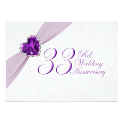 33rd Wedding Anniversary Gifts   T Shirts, Art, Posters