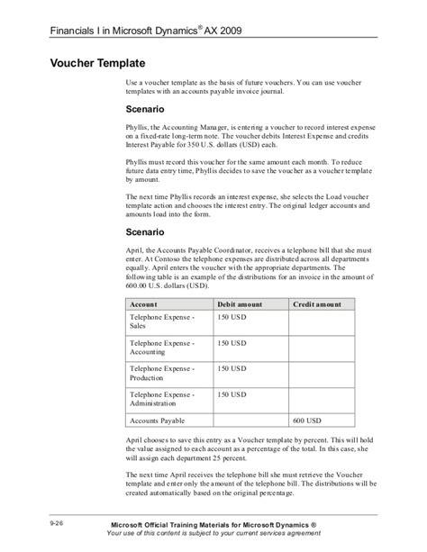 accounts payable voucher template choice image templates