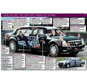 Obamas New Presidential Limo Is A GMC Truck Chassis Dressed In