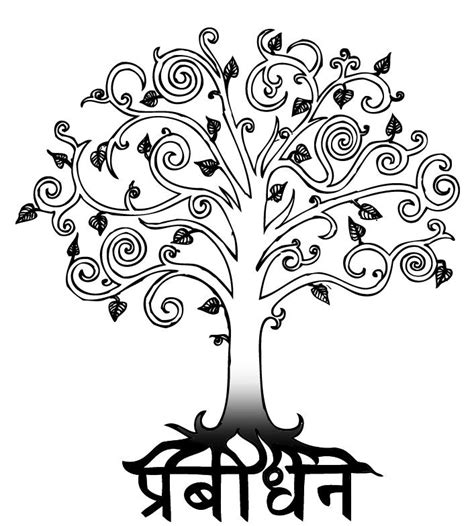 Bodhi Tree Tattoo By Rfabiano On Deviantart Bodhi Tree Designs