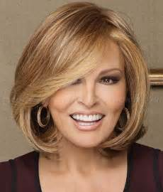 hairstyles with color tips for 50 years shoulder length hairstyles over 50 medium length bob