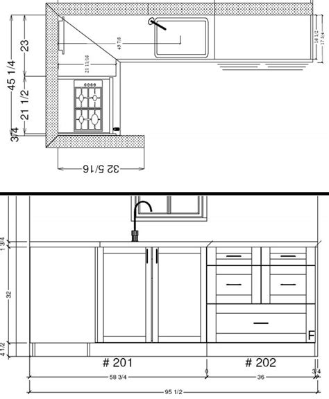 kitchen layout notes design the tiny life