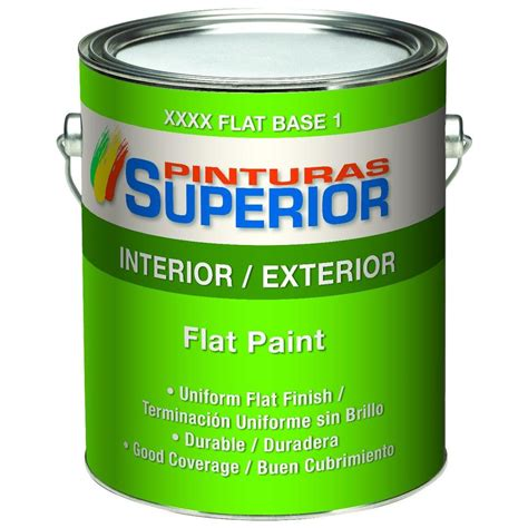 harris duratone 1 gal flat acrylic interior exterior paint 12105 the home depot