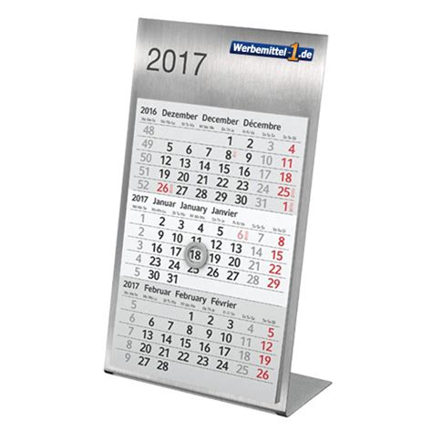 design kalender metall metall tischkalender werbemittel 1 de werbeartikel