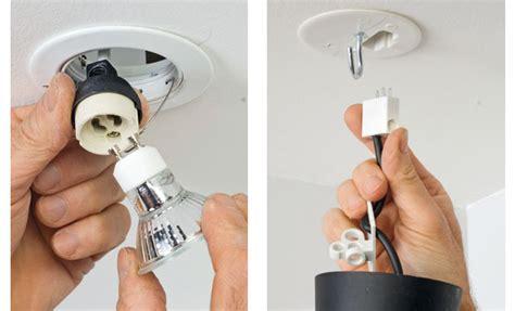 Comment Installer Une Le Au Plafond by Comment Poser Un Spot Ou Une Suspension Au Plafond