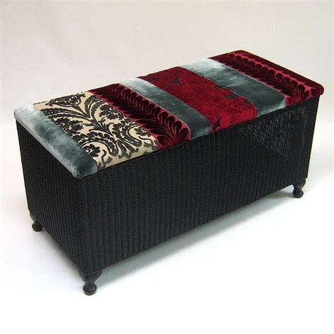 upcycle ottoman upcycled vintage ottoman by tilt originals