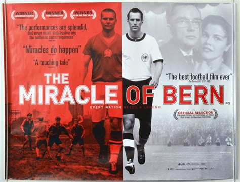 The Miracle Of Bern Miracle Of Bern The A K A Das Wunder Bern Original Cinema Poster From