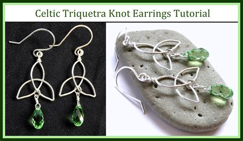 how to make celtic knot jewelry easy jewelry tutorial how to make a celtic knot charm