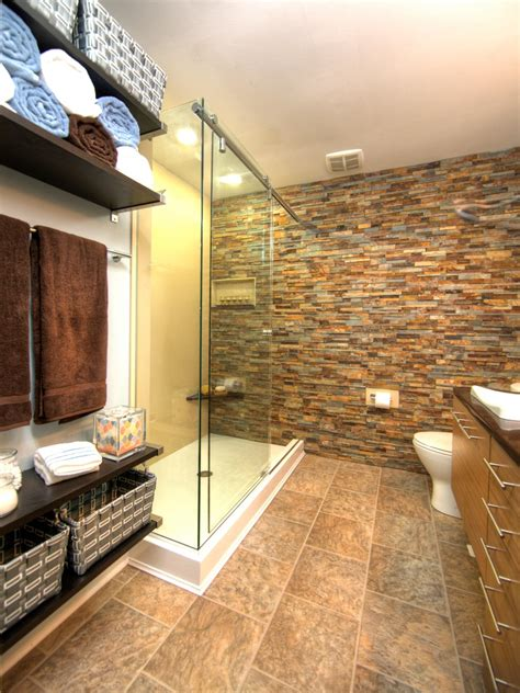 bathroom with stone photos hgtv