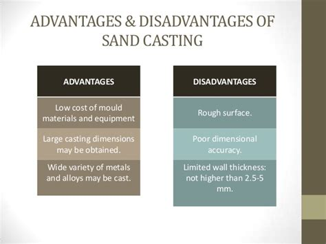 advantages of split pattern in casting chapter 3 metal work casting process and heat treatment