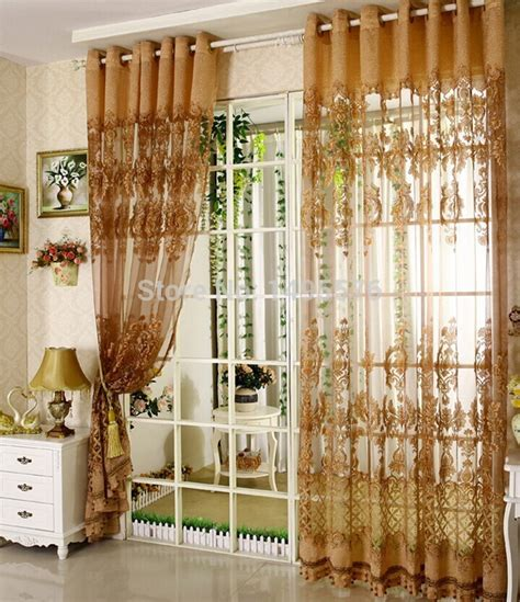 Fancy Living Room Curtains 2015 European Style Fancy Design Tulle Curtain With Blackout Shade Curtains For Home Living Room