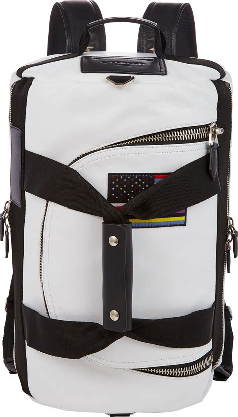 Givenchy Bag 17 givenchy 17 convertible bag backpack in white for lyst