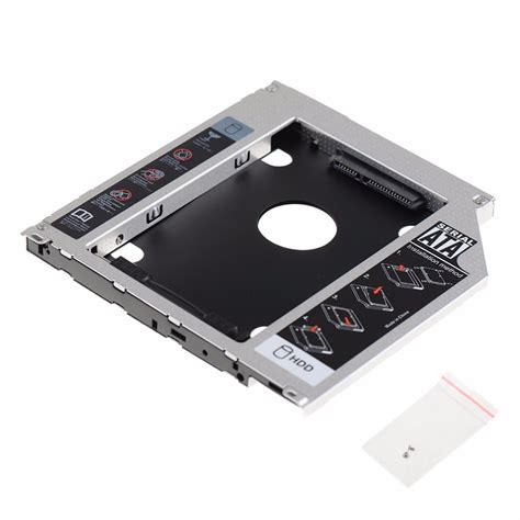Promo Hdd Caddy 9 5mm 2nd hdd drive caddy sata 9 5mm universal fit for apple macbook optical bay vcq02 p0 11 in