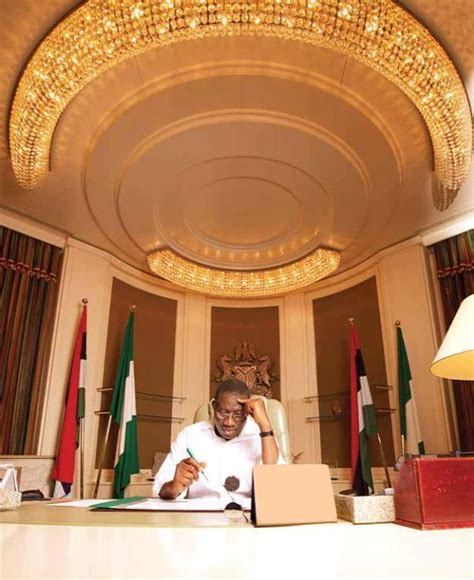 office gossip house music photo president goodluck jonathan spotted in aso rock
