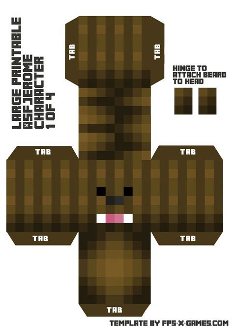 Mine Craft Paper Craft - 1000 images about minecraft papercraft on