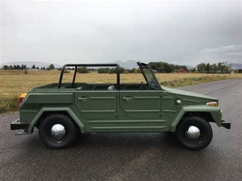 volkswagen type 181 thing 1974 volkswagen thing type 181 for sale buy classic volks