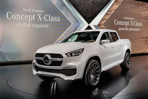 mercedes pickup 2017 new 2018 mercedes x class pick up everything we know so