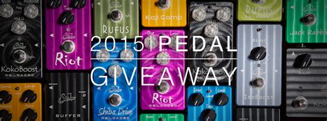 Guitar Pedal Giveaway - 2015 suhr pedal giveaway distinctiveguitar