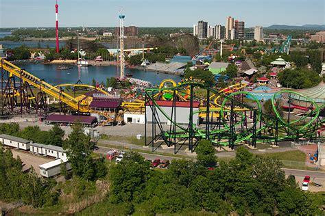 theme park quebec la ronde theme park in montreal thousand wonders
