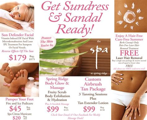 53 best images about spa specials on