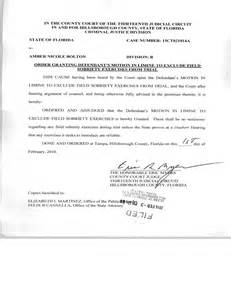 motion in limine template field sobriety exercises motion to suppress granted in ta