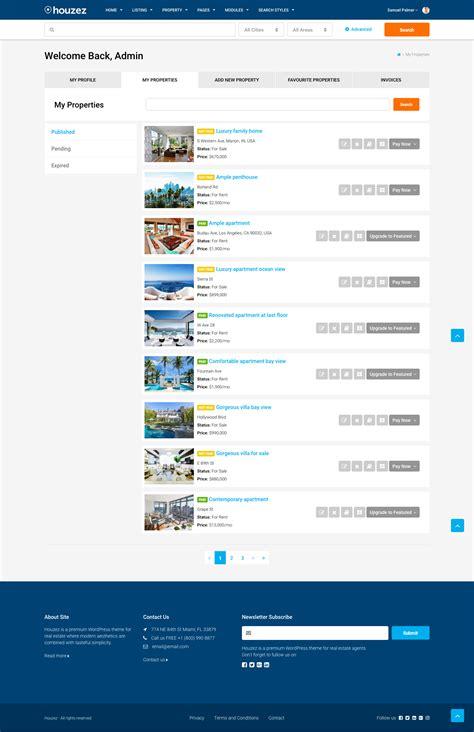 houzez theme houzez real estate wordpress theme by favethemes