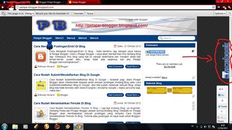 cara membuat widget facebook di blog cara membuat widget fp fans page facebook melayang