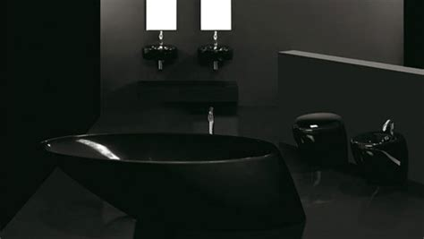 plushemisphere black bathroom design ideas